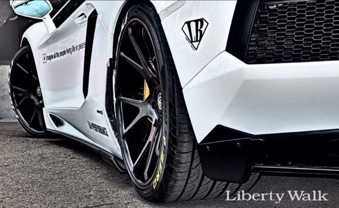 LB★performance Lamborghini Aventador Body Kit
