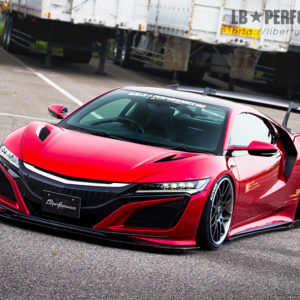 Liberty Walk Acura NSX LB★performance Wide Body Kit Version 1, from LibertyWalk.shop