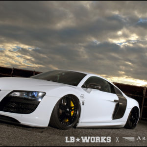 LB★performance Audi R8 by Liberty Walk