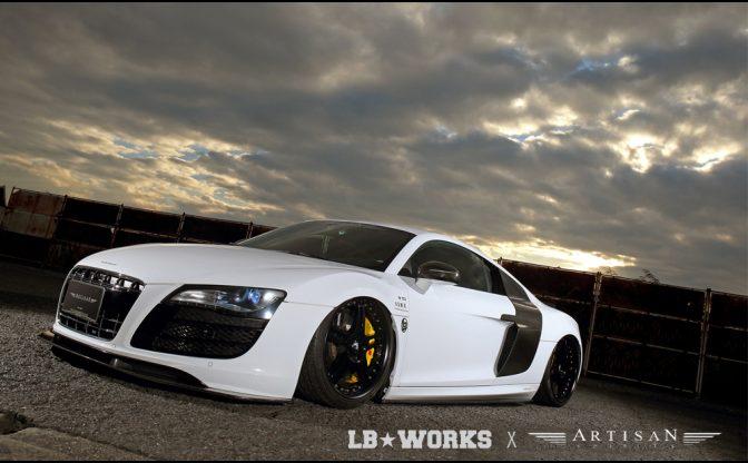 LB★performance Audi R8 by Liberty Walk