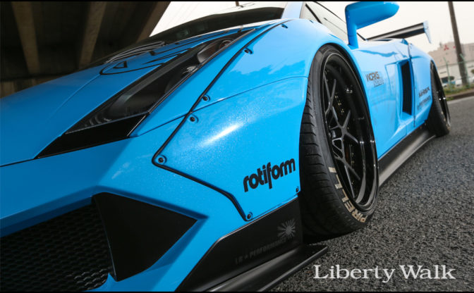 Liberty Walk Lamborghini Gallardo Version 2