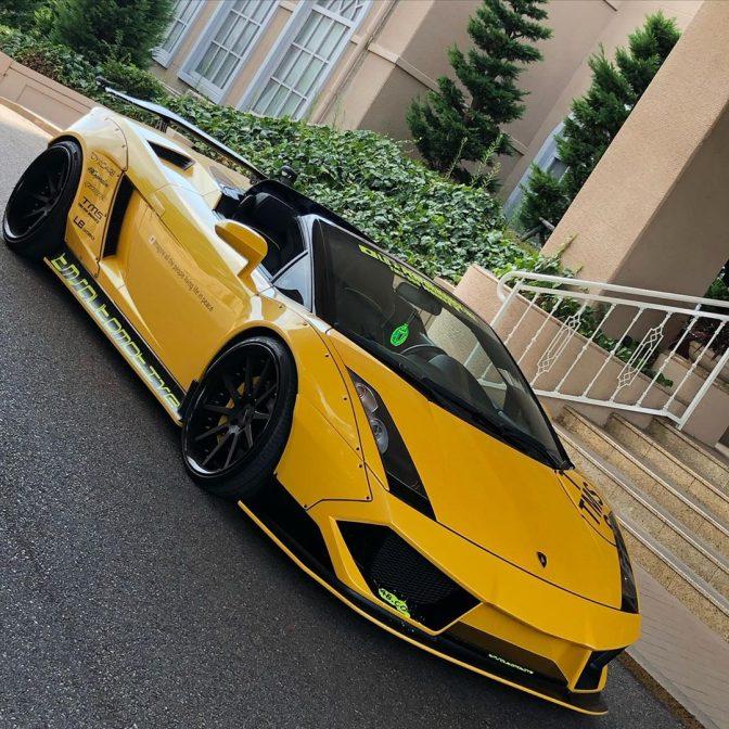 Liberty Walk Lamborghini Gallardo Version 3
