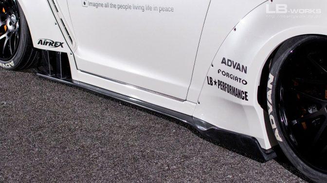 LB★Works Nissan GT-R R35 Type 2 Body Kit