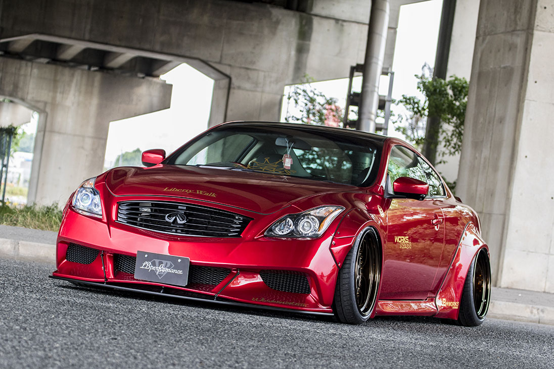 LB★Nation Works G37 Q60 Complete Body Kit