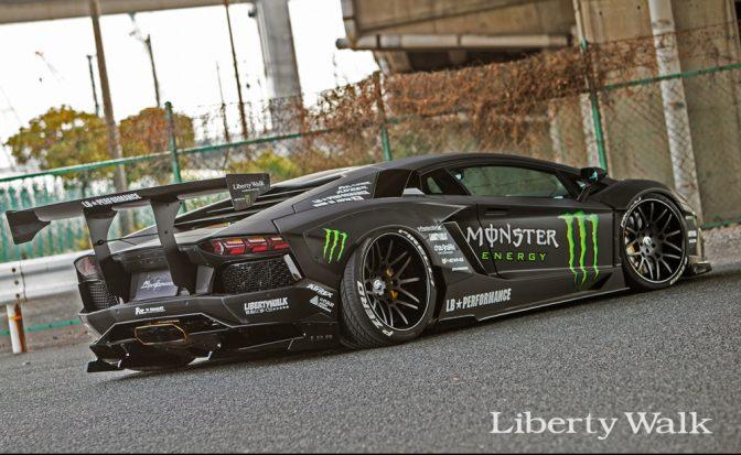 "LB★Works Lamborghini Aventador Ver.2 ""Exchange Fender"" Kit"