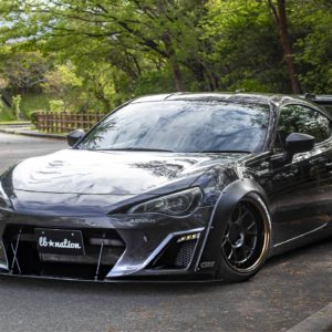 LB-Nation Scion FRS Ver.1 Bumper Kit