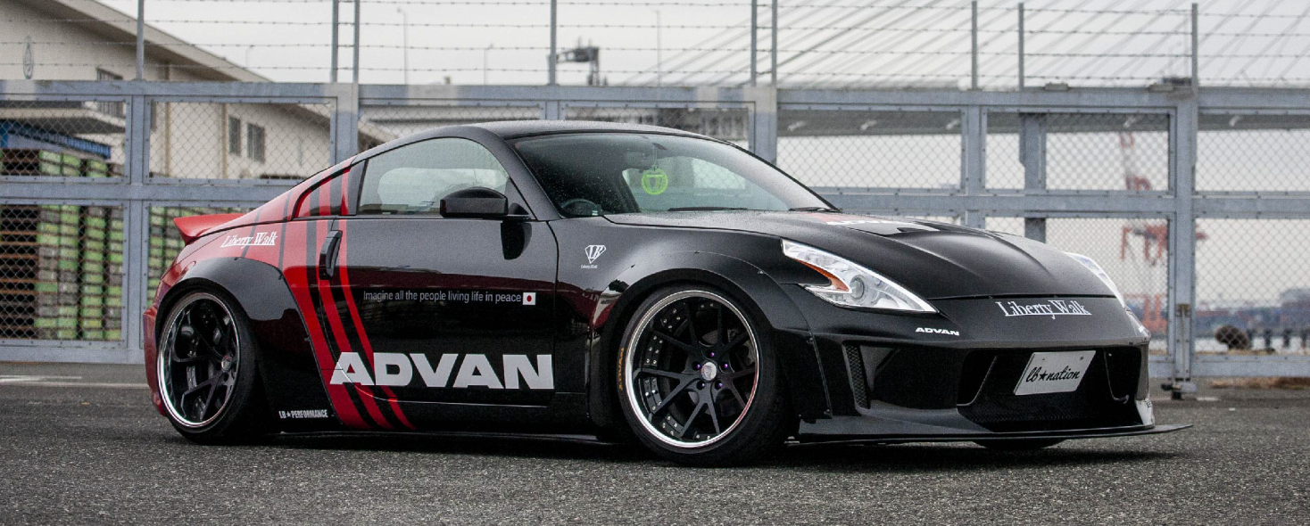 Nissan 350Z Liberty Walk Wide Body Kit Z33