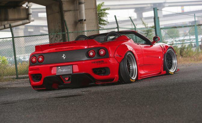 LB★Works Ferrari 360 Body Kit Ver. 2 (1999-2005)