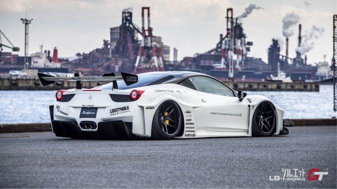 LB★Silhouette Works Ferrari 458 GT Full Body Kit (2010-2015)