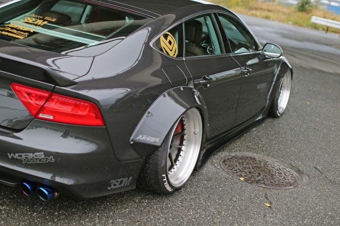 LB★Works Audi A7 / Audi S7 Wide Body Kit - Liberty Walk USA