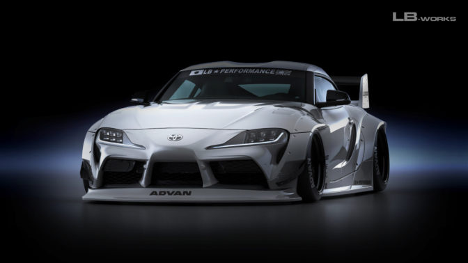 LB★Works Toyota Supra (A90) Complete Body Kit