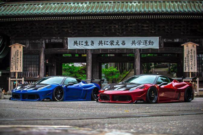 Liberty Walk Ferrari 458 GT Full Body Kit