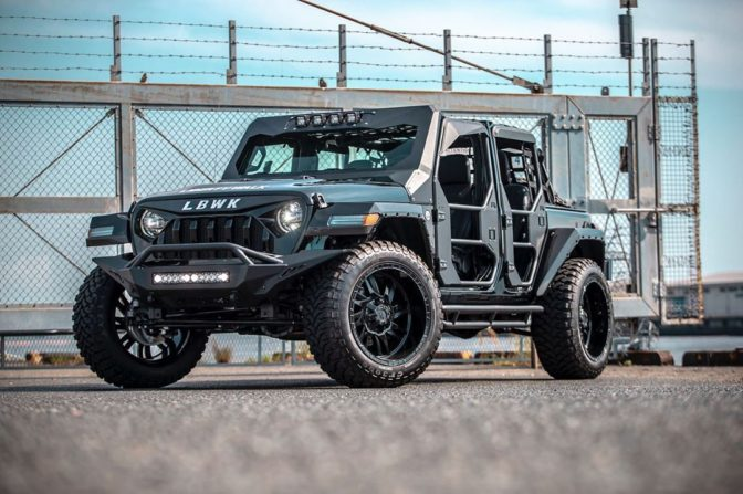 LB★Works Jeep Wrangler Full Body Kit, by Liberty Walk.