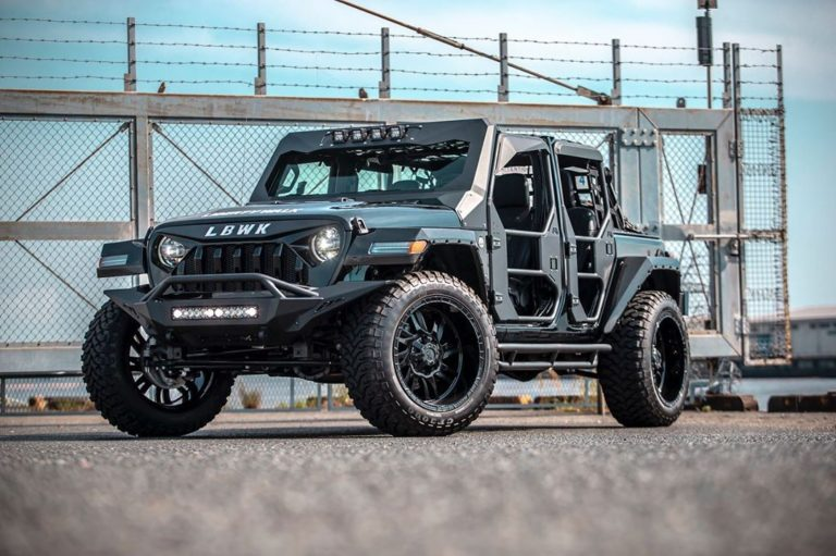 LB★Works Jeep Wrangler Full Body Kit, by Liberty Walk.