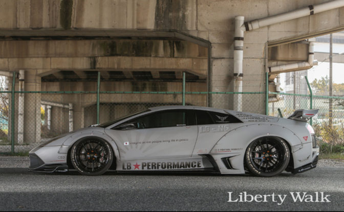 LBWorks Lamborghini Murcielago Limited Edition Body Kit