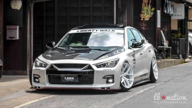 Liberty Walk Infiniti Q50 Body Kit by LB-Nation