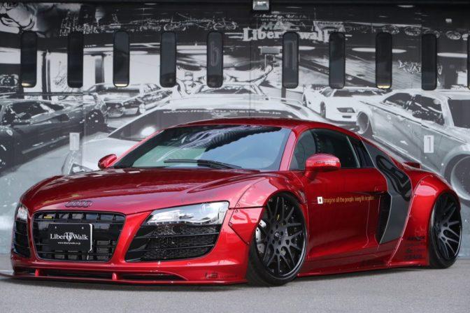 LB★Works Audi R8 WideBody Kit by Liberty Walk