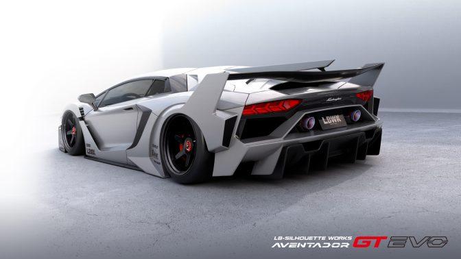 LB-Silhouette WORKS AVENTADOR GT Evo Complete Body Kit