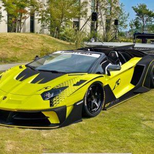 The Lamborghini Aventdaor GT EVO by Liberty Walk - LB-WORKS Silhouette
