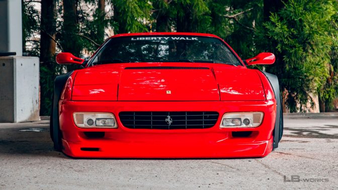 Liberty Walk Ferrari Testarossa 512TR
