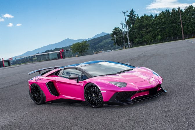LB★PERFORMANCE Lamborghini AVENTADOR SV by Liberty Walk