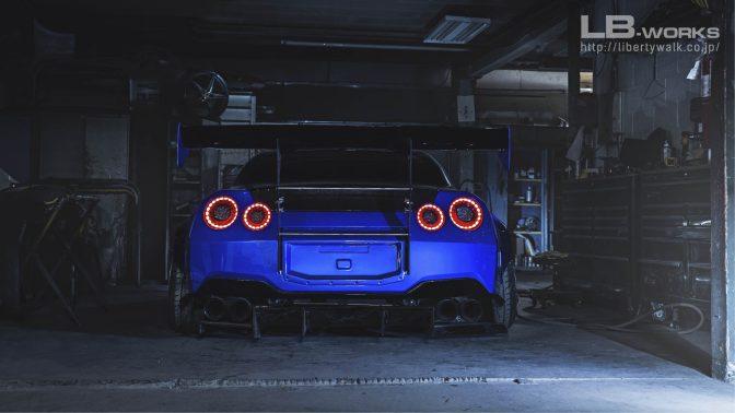LB★Works Nissan GT-R R35 Type 2 Rear Bumper