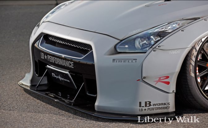 Liberty Walk Nissan GTR R35 Front Bumper