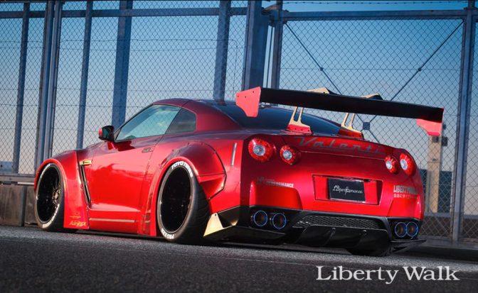 Liberty Walk Nissan GTR R35 Rear Diffuser