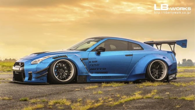 LB★Works Nissan GT-R R35 Ver. 3 Wing