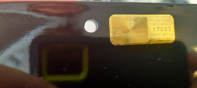 LB★Works Lamborghini Gallardo Rear Diffuser OPEN BOX ITEM